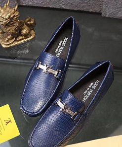 حذاء لويس فيتون كحلي